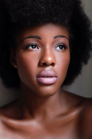 brown skin beauty