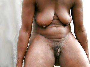 ebony mature stockings