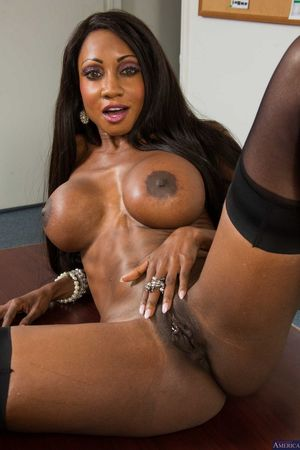 mature nude black women