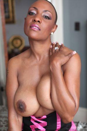 ebony milf pornstars