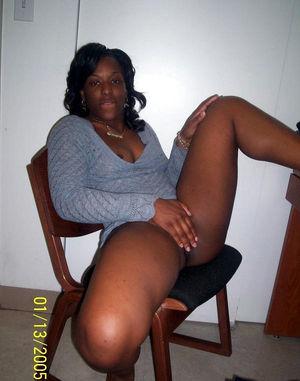 ebony mature panties