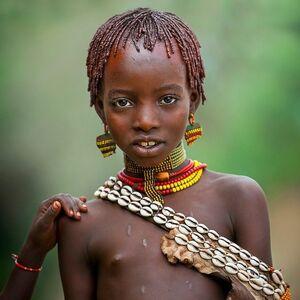 african teen girl