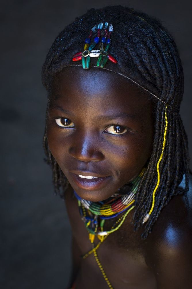 Mucawana tribe girl , Namibia Africa Африканские племена, Аф