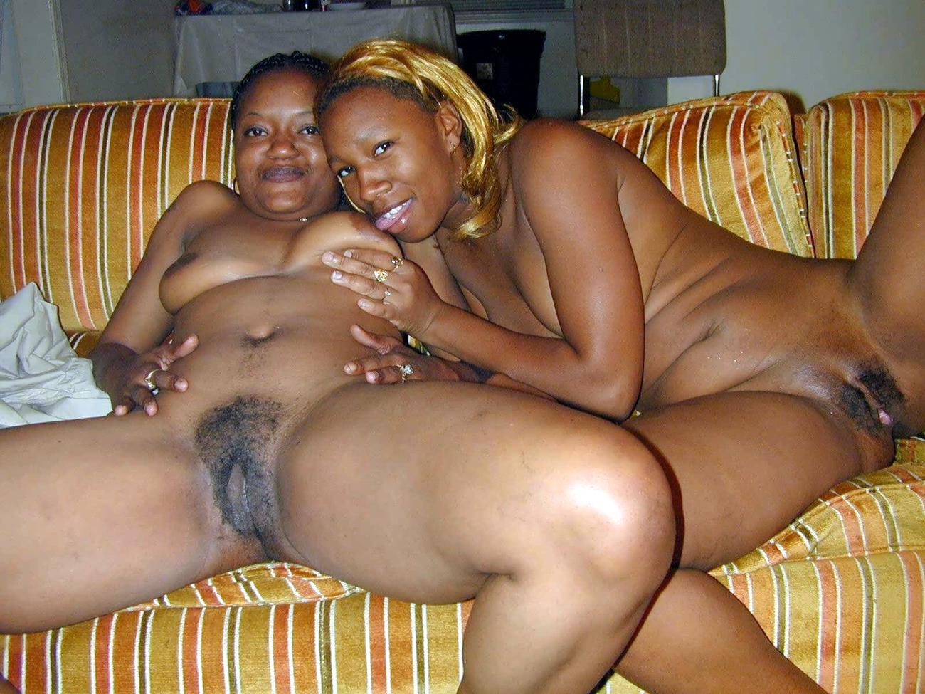 Black African Mom Nude