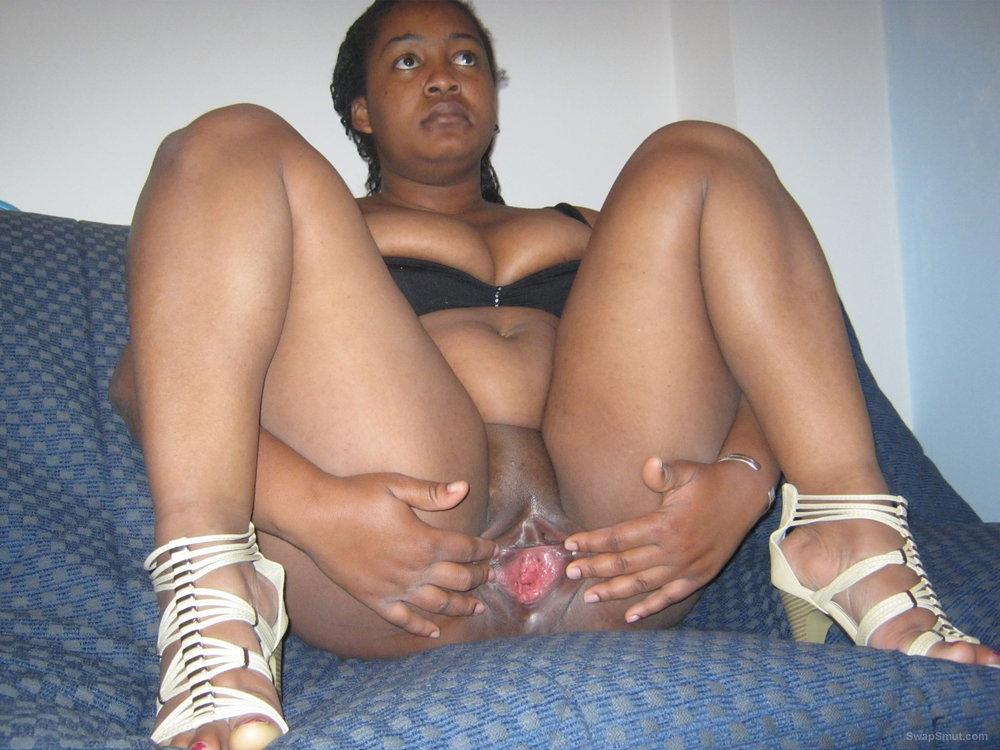 Ebony BBW Teen Gangbang