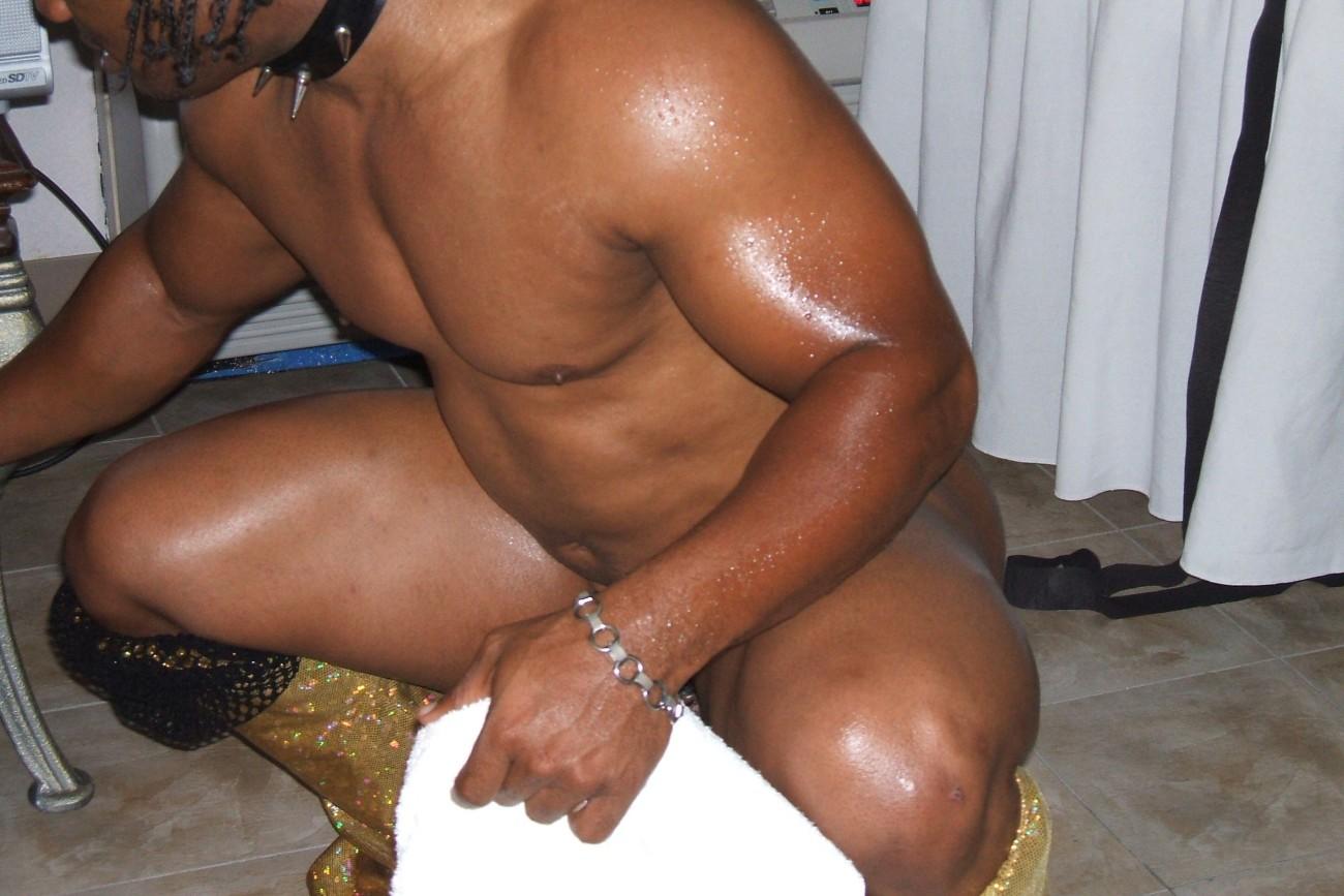 Black Male Muscle Stripper