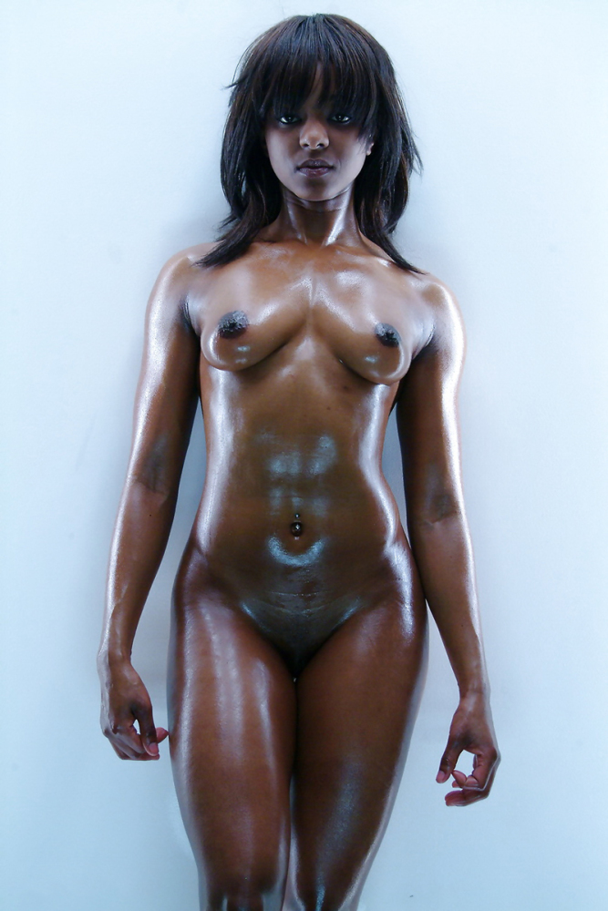 Dark Skin Women Topless