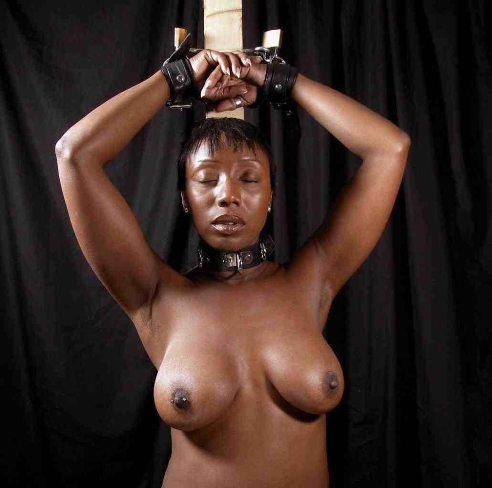Watch bondage for black woman