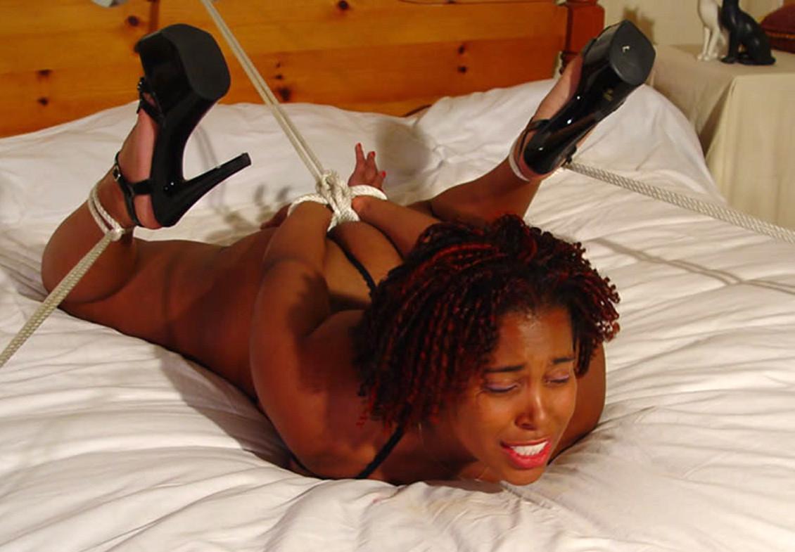 Free black girl bondage porn galery