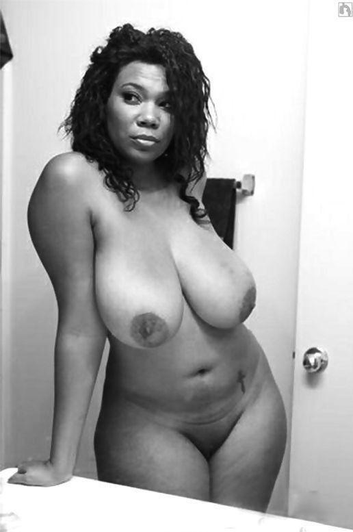 Big black boobs curvy nude