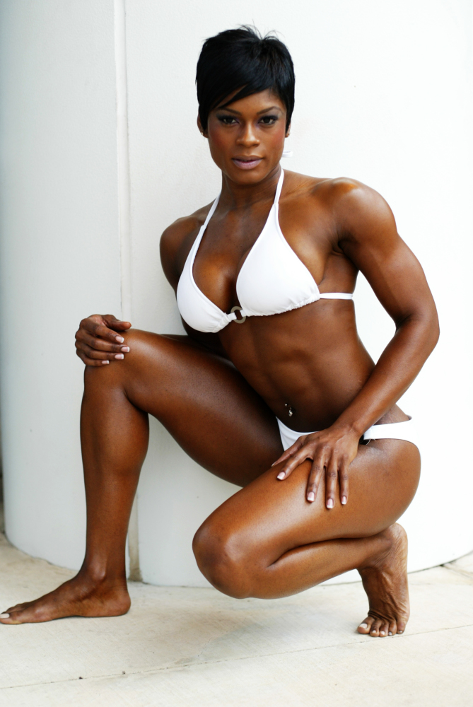 Monique Jones And Other Female Muscle