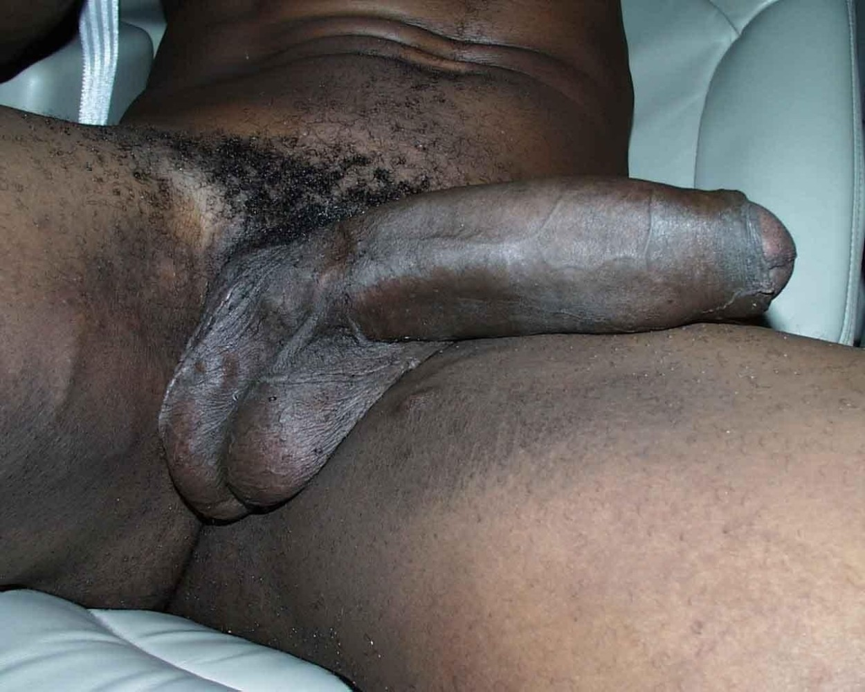 Uncut penis black Big Uncut