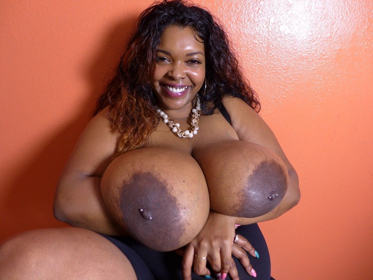 Black mature big tits