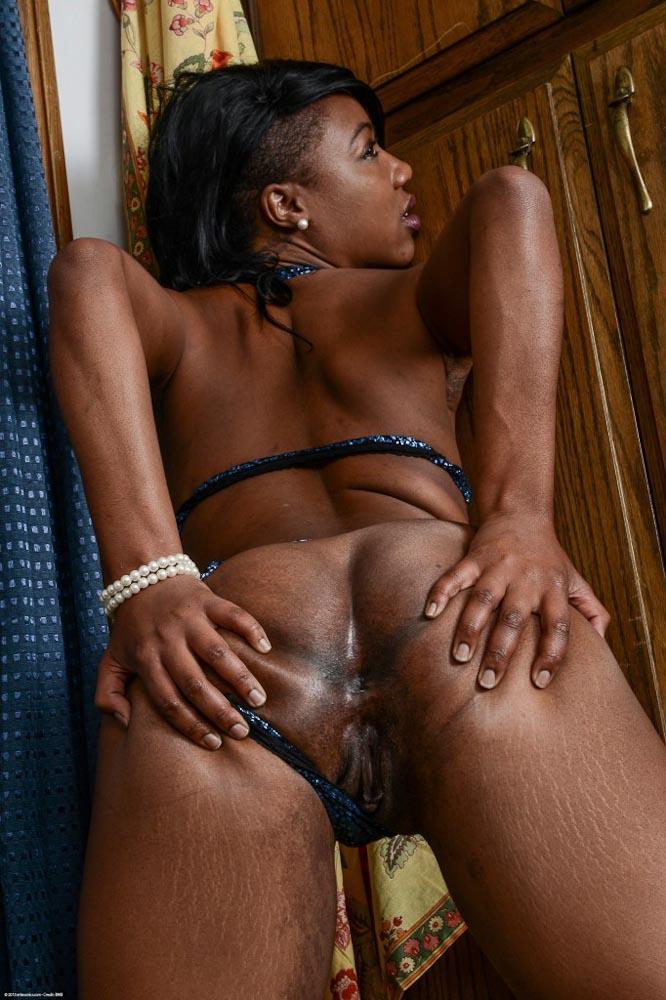 Chanell's Small Tits on ATK Exotics Black Porn Blog