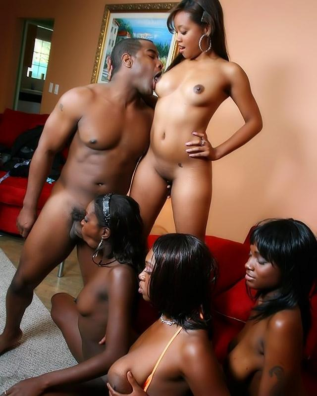 Different ethnic groups naked