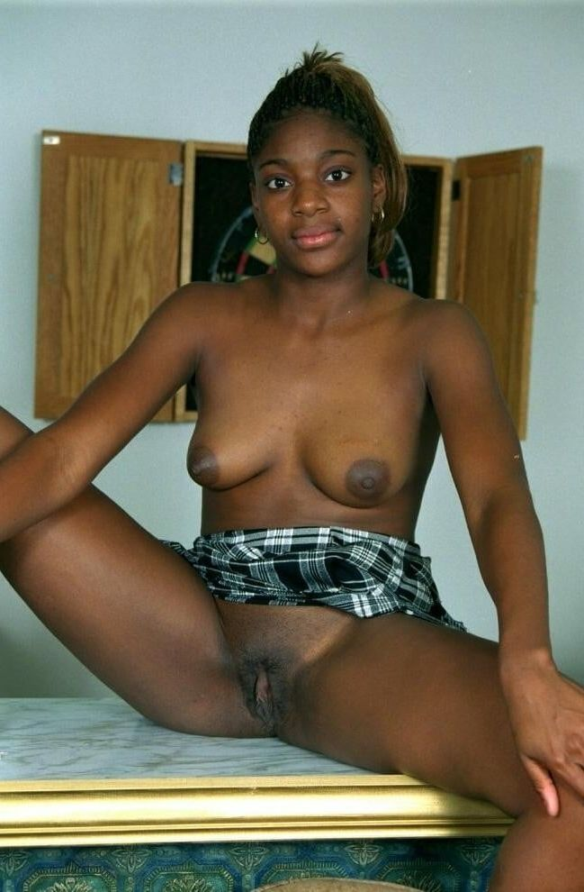 Young Ebony Teen Orgasm