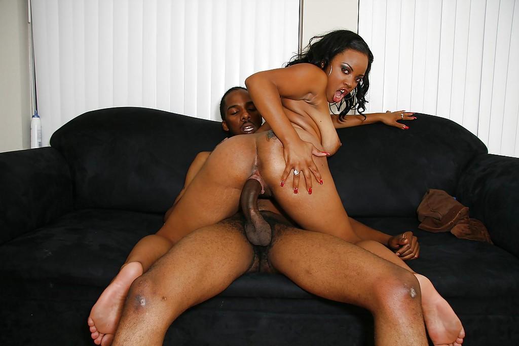 Busty Ebony Interracial Sex With Mr Pete, Porn Cb