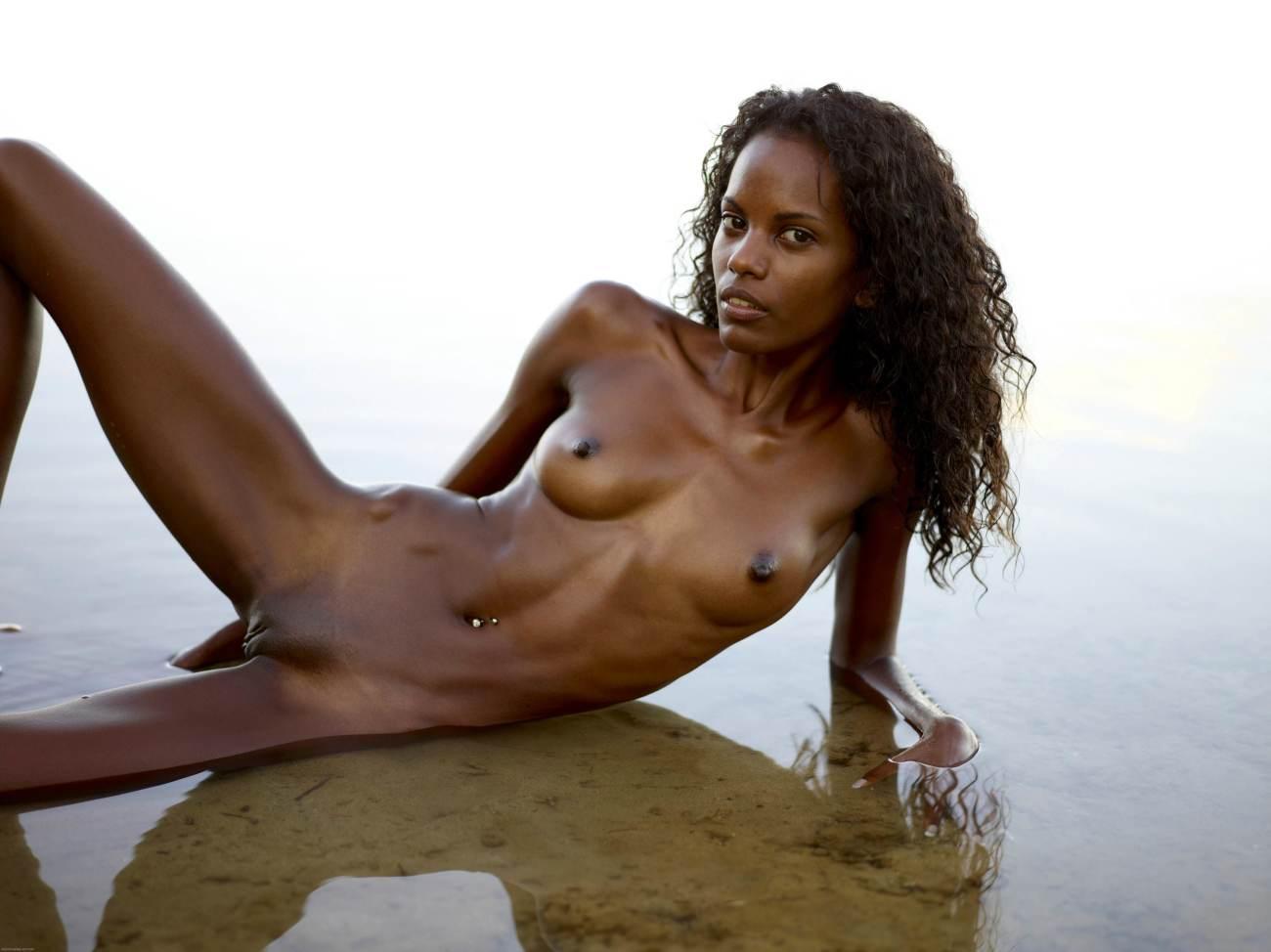 Sexy skinny black girls