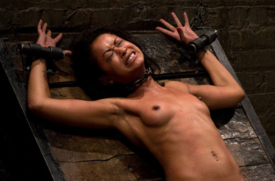 Sunny leone tied up in torture room