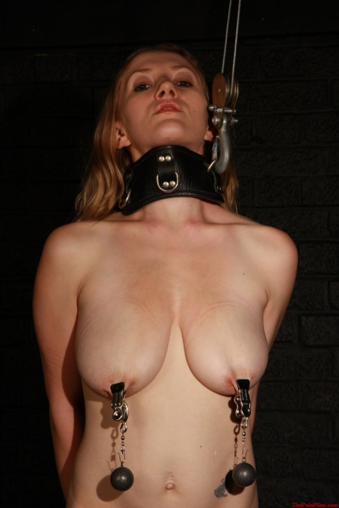 Chained pierced and locked cunt
