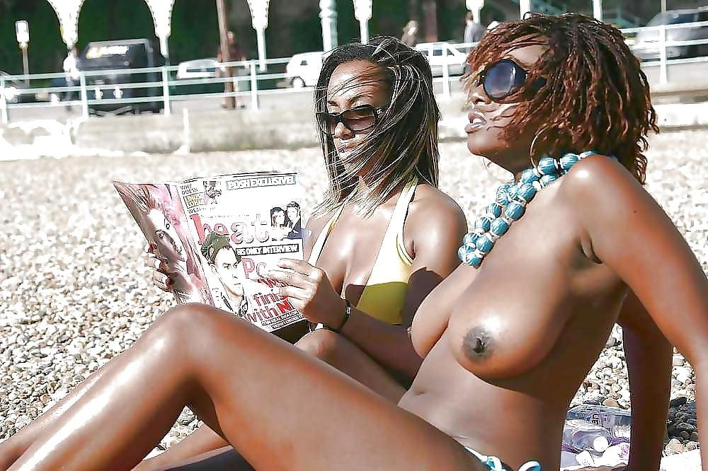 Milf on beach porn photos