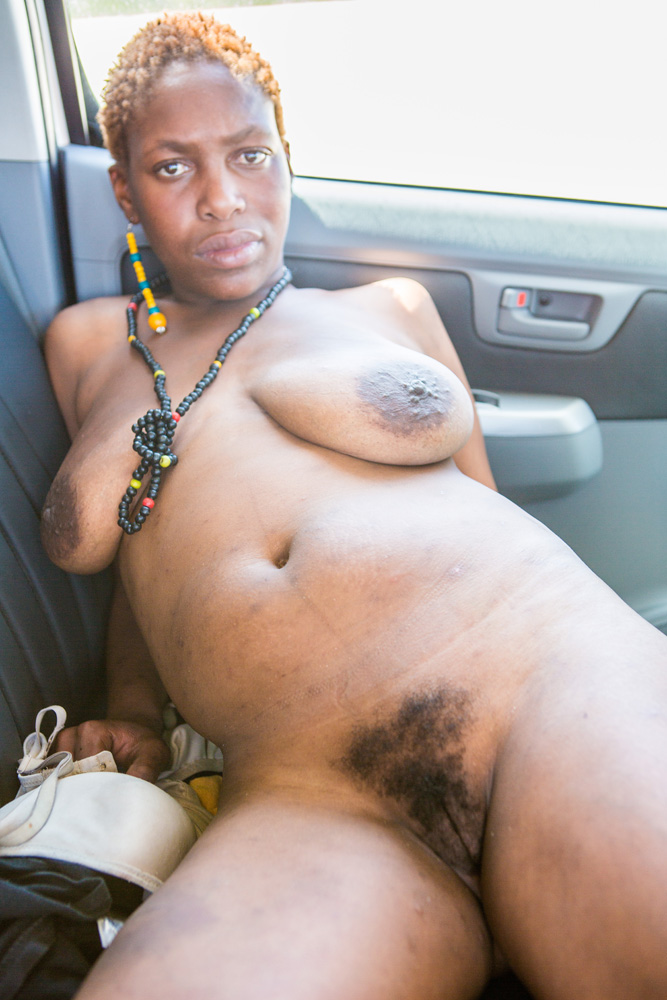 Older Black exhibitionists and swingers roam naked in the streets of New York