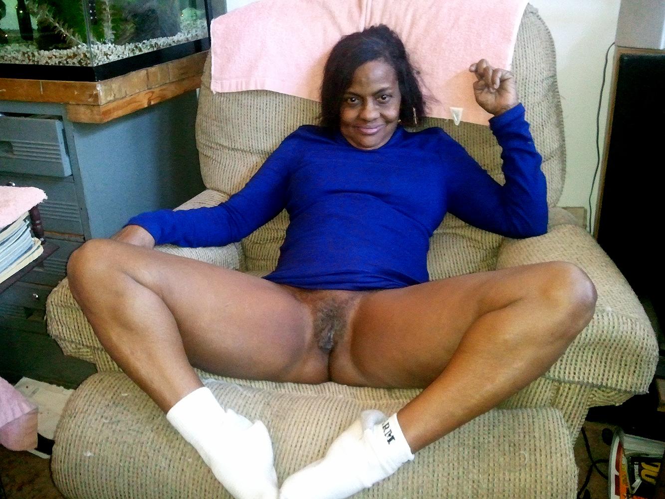 Grandma's Big Tits And Luscious Pussy Need